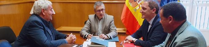 L'Estat, compromès a reparar i modernitzar el canal d'Urgell després de la riuada