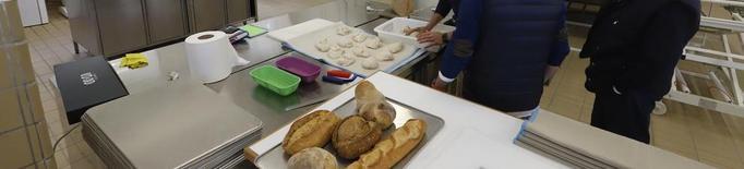 Aula d'experimentació sobre pa a Gardeny