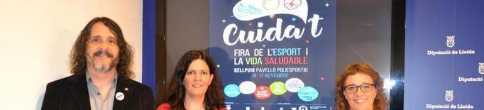 La Fira Cuida't fomenta a Bellpuig l'esport saludable el cap de setmana