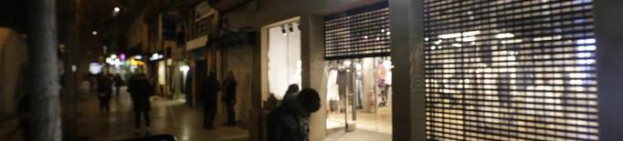 Uns 200 comerços de Lleida van tancar ahir a les 19.00 en favor de la conciliació