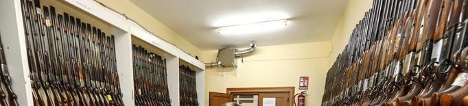 La Guàrdia Civil subhasta 345 armes amb preus de sortida de 10 a 1.000 euros