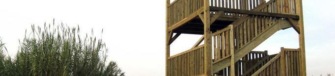 El consistori habilita un observatori d'aus als aiguamolls de Rufea