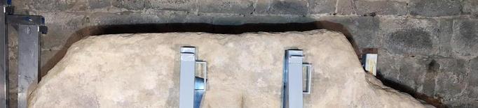 El Museu de Solsona restaura tres menhirs
