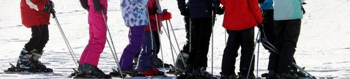 Port del Comte dobla l'àrea esquiable gràcies a la producció de neu artificial