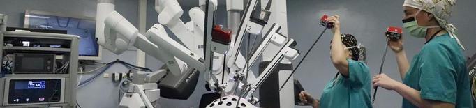 L'Arnau practica 167 operacions en vuit mesos amb el robot Da Vinci