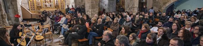 Vilagrassa obre el cicle 'Musicant l'Urgell' amb ple de públic