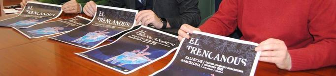 El ballet 'El Trencanous'i el bateria d'Els Pets, Joan Reig, a L'Amistat de Mollerussa