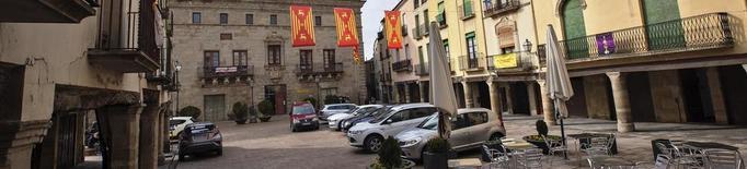 La Paeria de Cervera prohibirà estacionar a la plaça Major