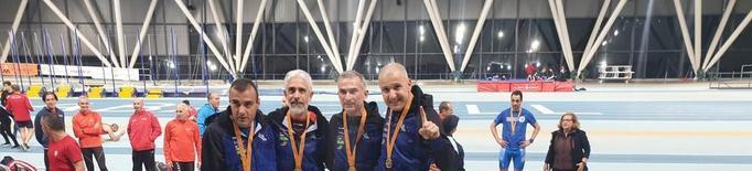 El Xafatolls suma cinc podis al Campionat de Catalunya màster