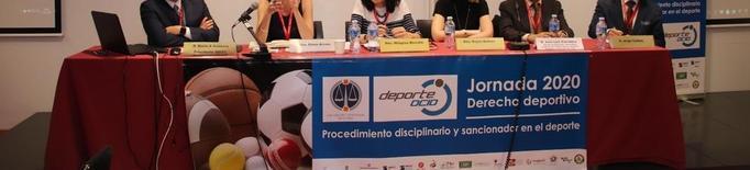 Lleida acull una cimera d'experts en dret esportiu