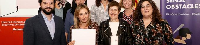 Premi de les federacions a Esport Femení Lleida