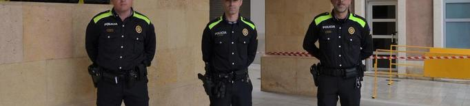 Tres nous agents s'incorporen a la plantilla policial de Mollerussa