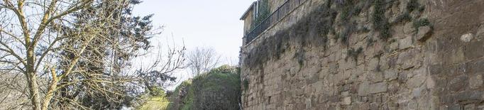 Torà construirà un pas elevat per connectar la muralla medieval