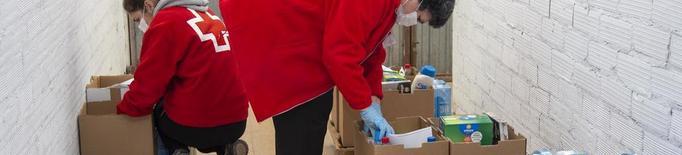 El Banc d'Aliments de Tàrrega extrema la prevenció en el servei