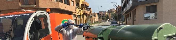 Almacelles tanca el cementiri i desinfecta carrers