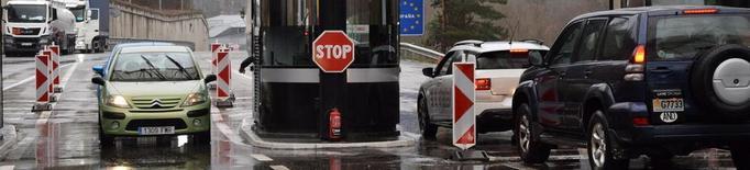 El trànsit entre l'Alt Urgell i Andorra cau vora un 90% la setmana del tancament fronterer