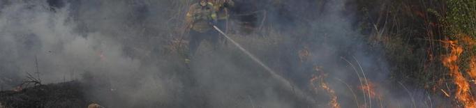 Un incendi calcina quatre hectàrees entre Puigverd de Lleida i la capital