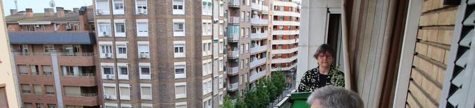 'El Virolai' 'pren' els balcons lleidatans