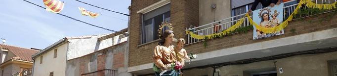 Torrelameu honora la Verge del Roser
