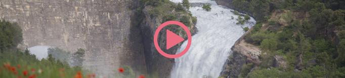 ⏯️ El pantà de Talarn comença a desembassar aigua en arribar al límit de la seva capacitat