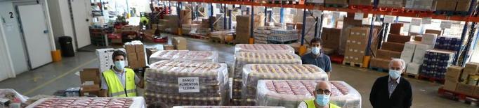 El Banc dels Aliments de Lleida fa una crida per aconseguir més voluntaris