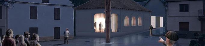 Muntatge de com quedarà l'equipament de la Casa deth Haro un cop finalitzada a Les, Val d'Aran