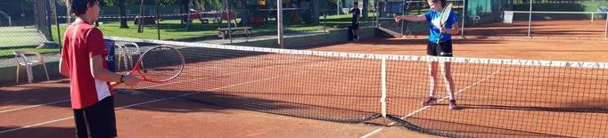 Joves tenistes  tenis tennis CT Urgell