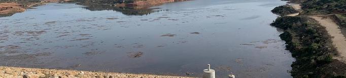 Les pluges omplen també el pantà de l'Albagés, al 25% sense estar operatiu