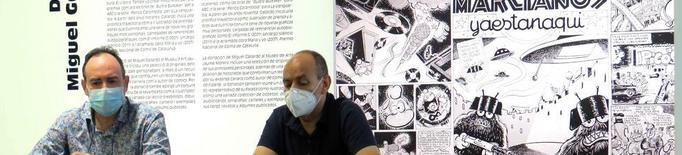 Miguel Gallardo dóna 200 originals al Museu Morera