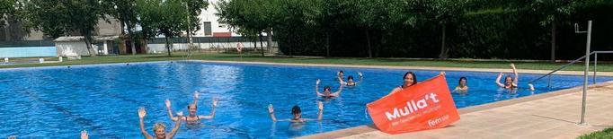 Cinquanta piscines de Lleida recaptaran fons per a l'esclerosi amb el Mulla't