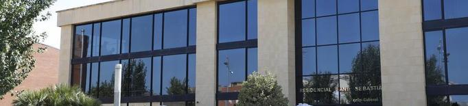 La Generalitat desinfecta la residència d'Alcarràs