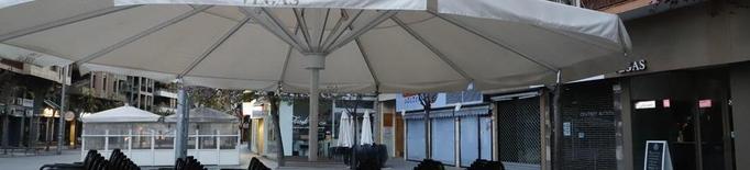 La Paeria facilitarà als bars sense terrassa que puguin instal·lar-les
