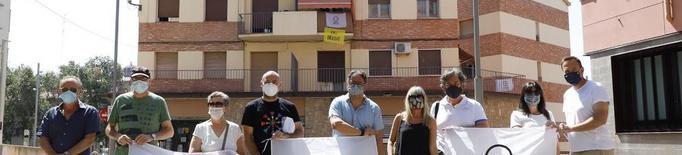 El Centre Històric llança un SOS amb banderoles