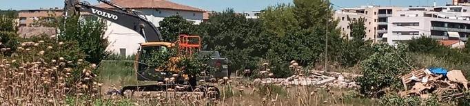 Fraga enderroca un assentament i el Baix Cinca ho critica