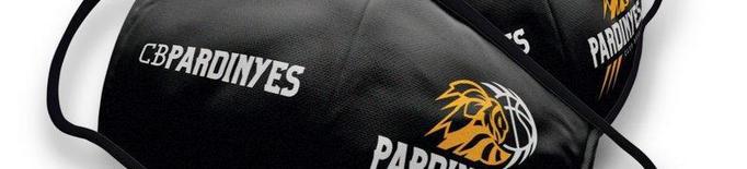 El CB Pardinyes-Lleida posa a la venda les seues mascaretes