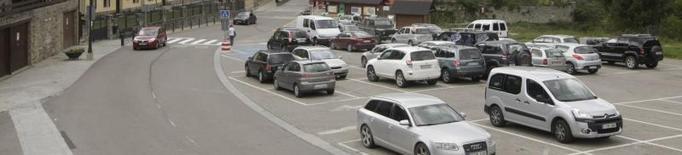 Naut Aran habilita catorze places d'estacionament a Salardú