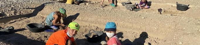 Petits arqueòlegs a Guissona