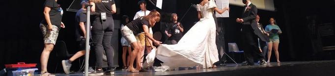 La inauguració del Mostremp simula el rodatge d'un film en plena pandèmia