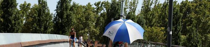 Jornada de calor asfixiant ahir al Segrià i el Pla