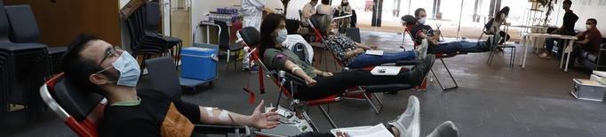 ⏯️ Les donacions de sang descendeixen menys aquest agost tot i la covid-19