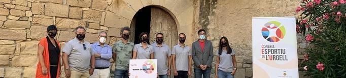 El consell esportiu de l'Urgell presenta la nova imatge i el web corporatiu