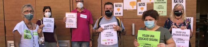 Els sindicats insten a abaixar ràtios i amenacen de convocar una vaga