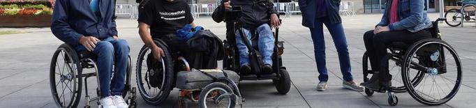 Ruta reivindicativa en cadira de rodes de 300 km