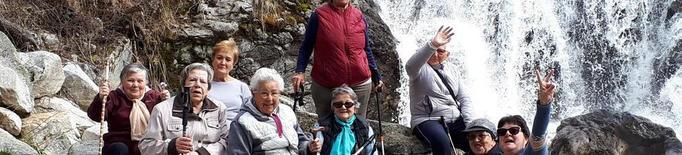 La Caixa reobre els seus centres per a persones grans i Naut Aran fomenta l'exercici