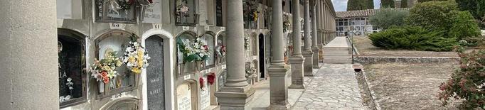 Cervera amplia el cementiri, ple al 90% de la capacitat