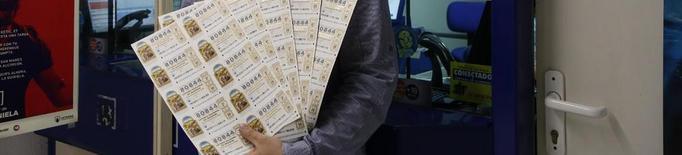 La venda de dècims de loteria de Nadal ha caigut un 30%
