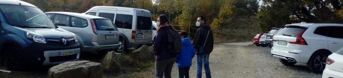 Protecció Civil demana no col·lapsar l'accés a Mont-rebei