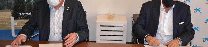 Nou sistema de gestió al Banc dels Aliments de Lleda