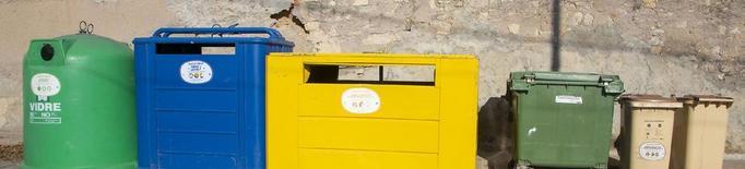 Illes de contenidors per millorar el reciclatge a Vilagrassa i Tornabous
