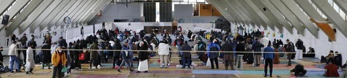 Rés islàmic amb unes 350 persones al Palau de Vidre